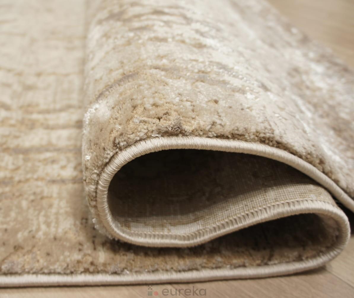 dywan beżowy brązowy